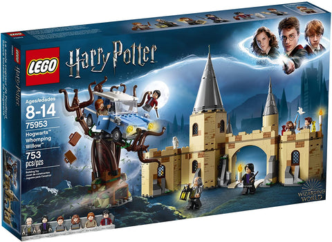 LEGO Harry Potter and The Chamber of Secrets Hogwarts Whomping Willow 75953 Magic Toys Building Kit, Prisoner of Azkaban, Hedwig, Hermoine Granger and Severus Snape (753 Pieces) brickskw bricks kw q8 kuwait online store puzzle lego toys play baby kids adult تركيب ليقو ليجو ذكاء مهارات العاب محل