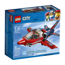 LEGO City Great Vehicles Airshow Jet 60177 BRICKSKW bricks kw kuwait online