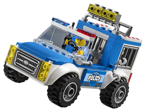 City Juniors Police Truck Chase 10735-5