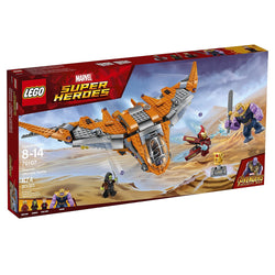 LEGO Marvel Super Heroes Avengers: Infinity War Thanos: Ultimate Battle 76107 Guardians of the Galaxy Starship Action Construction Toy and Building Kit for Kids brickskw bricks kw kuwait online store