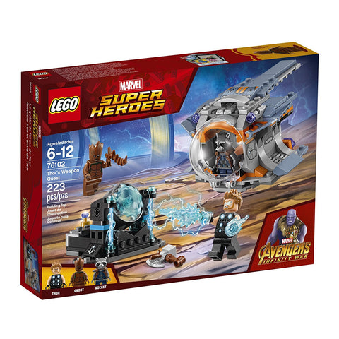 Super Heroes Thor's Weapon Quest 76102-1