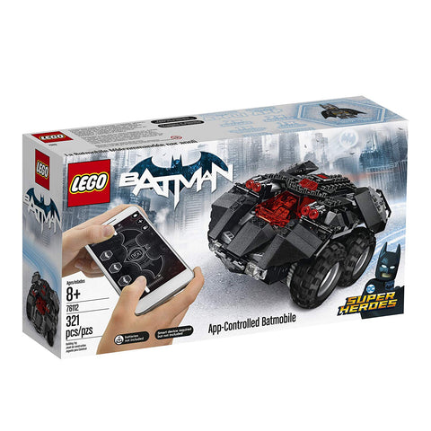 Super Heroes App-Controlled Batmobile 76112-1