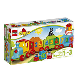 LEGO DUPLO My First Number Train 10847 Preschool Toy brickskw bricks kw kuwait online