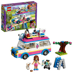 LEGO Friends Olivia's Mission Vehicle 41333 brickskw bricks kw kuwait online