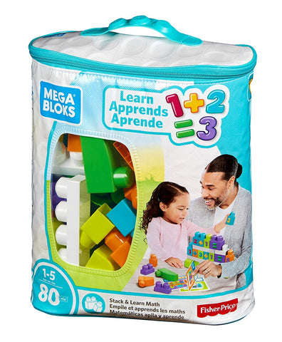 Mega Bloks Building Basics Stack & Learn Math brickskw bricks kw kuwait lego online