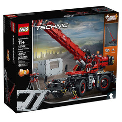 Lego Technic Rough Terrain Crane 2in1 42082 brickskw bricks kw kuwait online