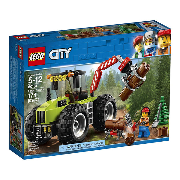LEGO City Great Vehicles Forest Tractor 60181 brickskw bricks kw kuwait online