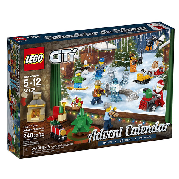 LEGO City Advent Calendar 60155 brickskw bricks kw kuwait online