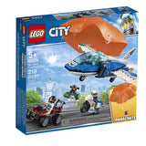 LEGO City Sky Police Parachute Arrest 60208 Building Kit , New 2019 brickskw bricks kw kuwait online
