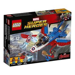 LEGO Super Heroes Captain America Jet Pursuit 76076 brickskw bricks kw kuwait