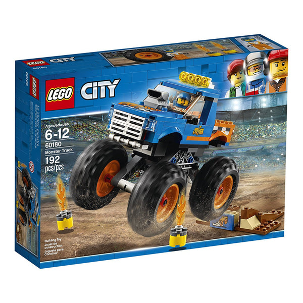LEGO City Great Vehicles Monster Truck 60180 brickskw bricks kw kuwait online
