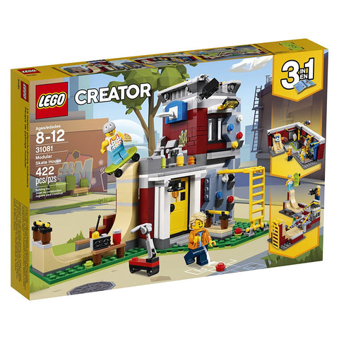 Creator Modular Skate House 3in1 31081-1