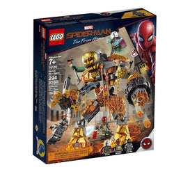 LEGO Marvel Spider-Man Far From Home: Molten Man Battle 76128 Building Kit, 294 Pieces brickskw bricks kw kuwait online store