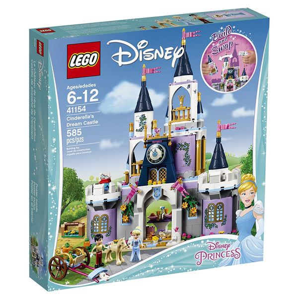 Disney Princess Cinderella's Dream Castle 41154 brickskw bricks kw kuwait online lego