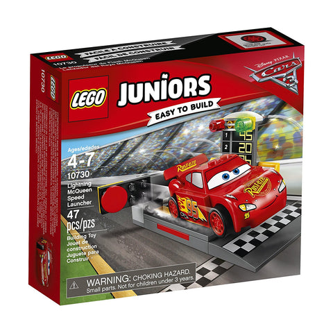 Juniors Lightning McQueen Speed Launcher 10730-1