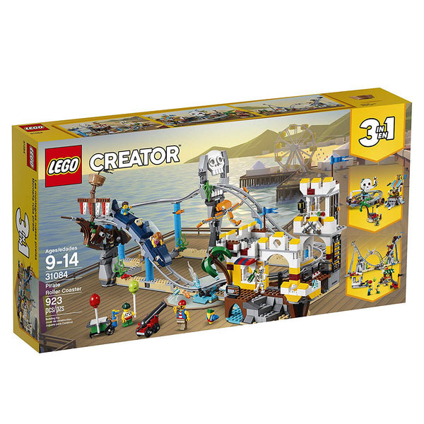 Lego Creator Piece Pirate Roller Coaster 3in1 31084 brickskw bricks kw kuwait online