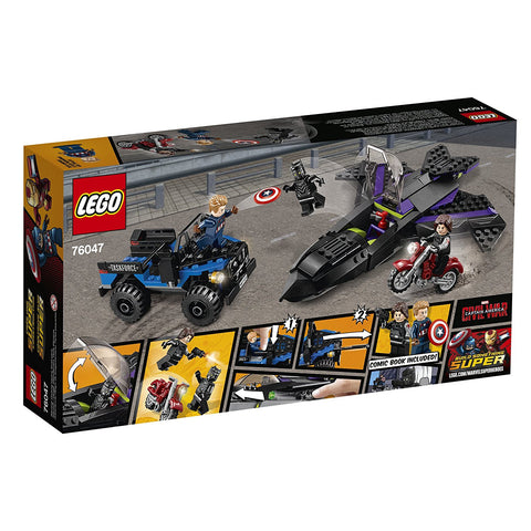Marvel Super Heroes Black Panther Pursuit 76047-2