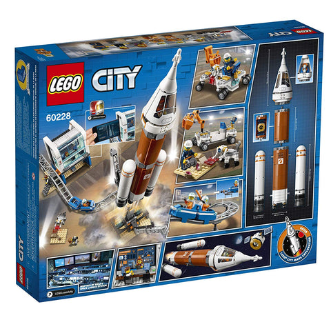 City Deep Space Rocket and Launch Control 60228-2