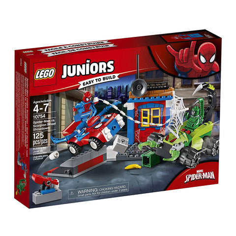 LEGO Juniors/4+ Marvel Super Heroes Spider-Man vs. Scorpion Street Showdown 10754 brickskw bricks kw kuwait online