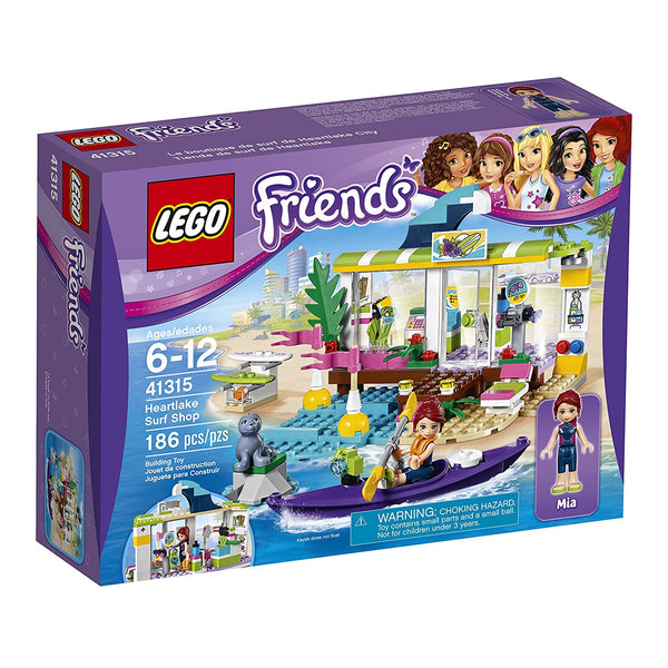 LEGO Friends Heartlake Surf Shop 41315 brickskw bricks kw kuwait online