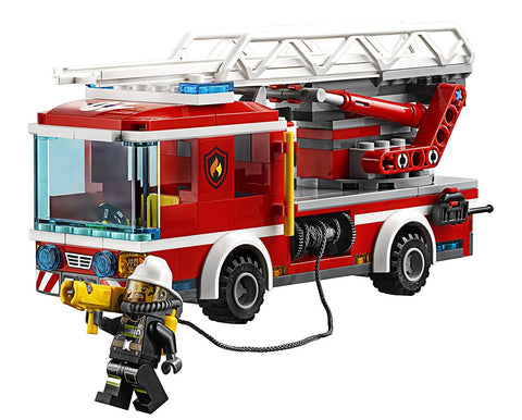 CITY Fire Ladder Truck 60107-4