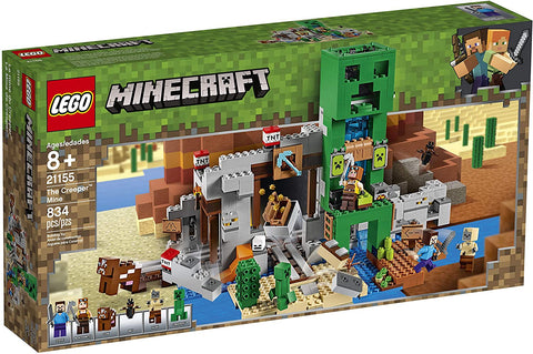 LEGO Minecraft The Creeper Mine 21155 Building Kit (834 Pieces) brickskw bricks kw q8 kuwait onilne store bricksq8