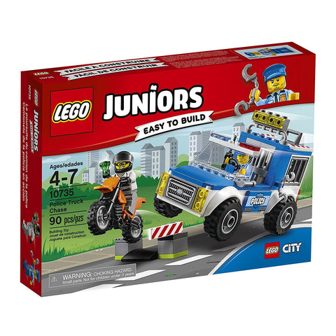 City Juniors Police Truck Chase 10735-1