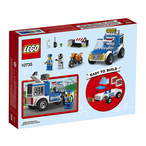 City Juniors Police Truck Chase 10735-2