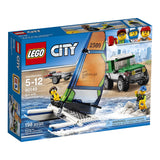 LEGO City Great Vehicles 4x4 with Catamaran 60149 brickskw