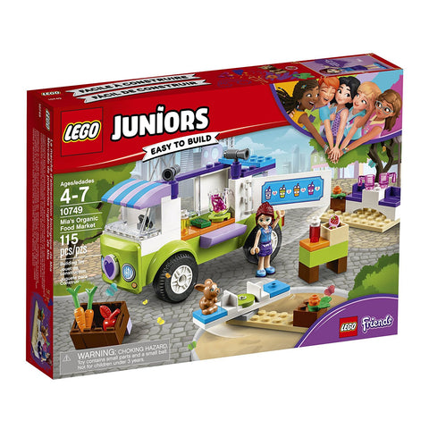 LEGO Friends Juniors Mia's Organic Food Market 10749 brickskw bricks kw kuwait online