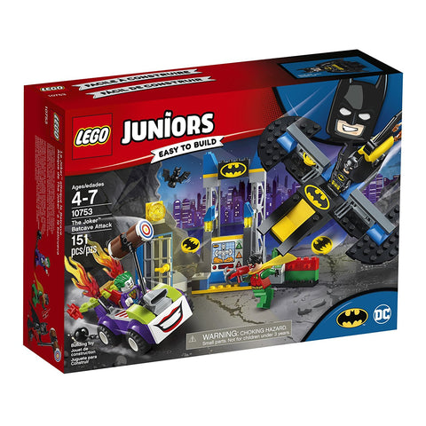 Juniors the Joker Batcave Attack 10753-1