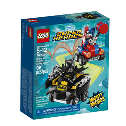 LEGO Superheroes Mighty Micros: Batman Vs. Harley Quinn 76092 brickskw bricks kw kuwait online