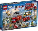 City Burger Bar Fire Rescue 60214