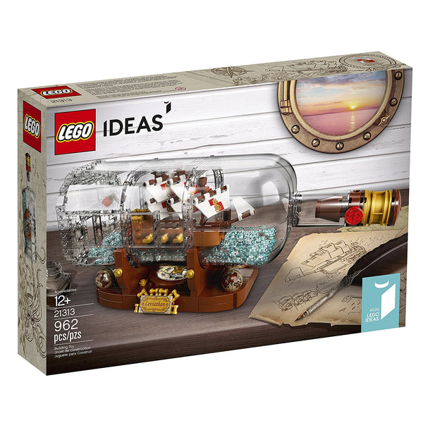 LEGO Ideas Ship in a Bottle 21313 brickskw bricks kw kuwait online