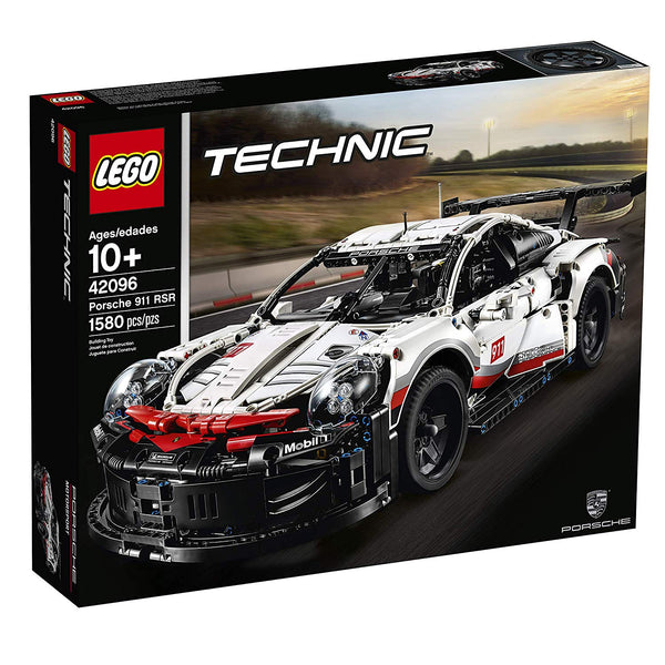 LEGO Technic Porsche 911 RSR 42096 Building Kit , New 2019 brickskw bricks kw kuwait online