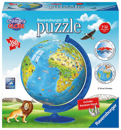 Ravensburger -Children's World Globe 3D Puzzle 123384 brickskw bricks kw kuwait online