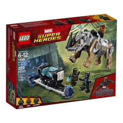 LEGO Marvel Super Heroes Rhino Face-Off by the Mine 76099 black panther brickskw bricks kw kuwait online