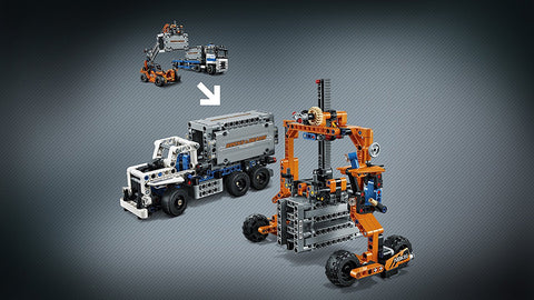 Technic container truck 2in1 42062-5