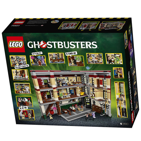 Ghostbusters Firehouse Headquarters 75827-2