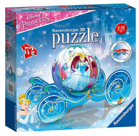 Ravensburger Disney Princess-Cinderellas Carriage 3D Puzzle 118236 brickskw bricks kw kuwait online