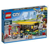 LEGO City Town Bus Station 60154 brcikskw bricks kw kuwait