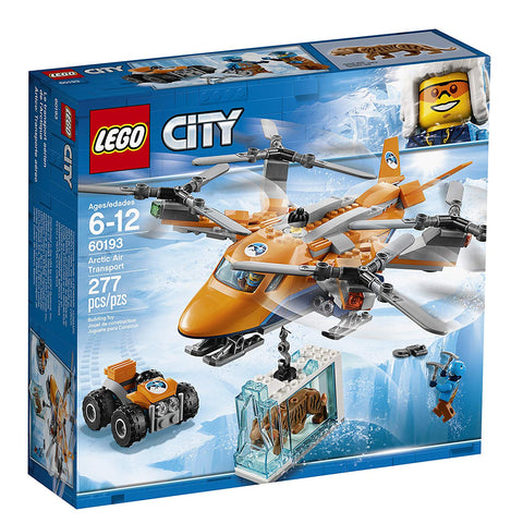 LEGO City Arctic Air Transport 60193 brickskw bricks kw kuwait online