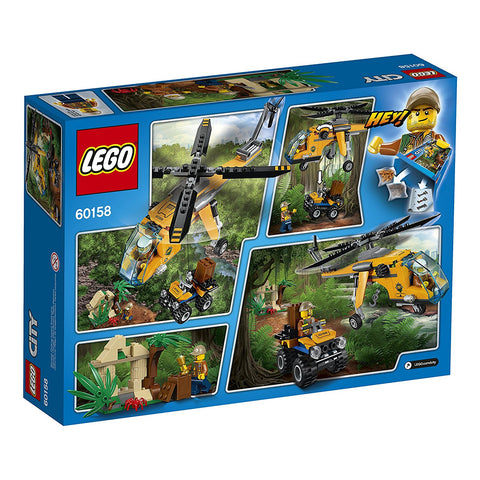 City Jungle Cargo Helicopter 60158-2