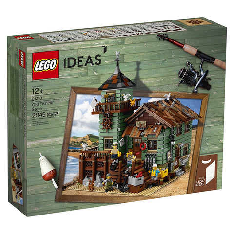 LEGO Ideas Old Fishing Store 21310 brickskw bricks kw kuwait