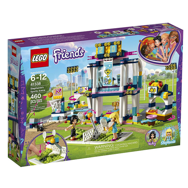 LEGO Friends Stephanie's Sports Arena 41338 brickskw bricks kw kuwait online