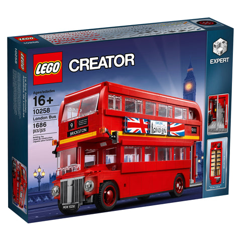Lego Creator London Bus 10258 brickskw bricks kw kuwait