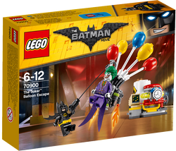LEGO®BATMAN MOVIE The Joker Balloon Escape 70900