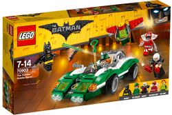 THE LEGO®BATMAN MOVIE The Riddler Riddle Racer 70903