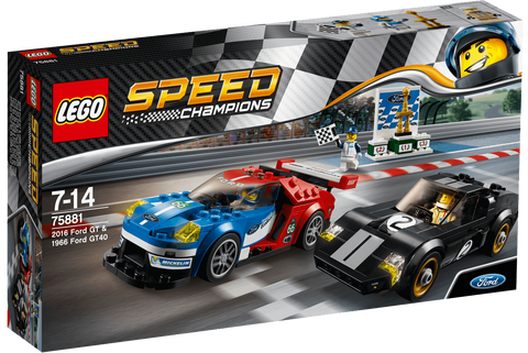 Speed Champions 2016 Ford GT & 1966 Ford GT40 75881-1