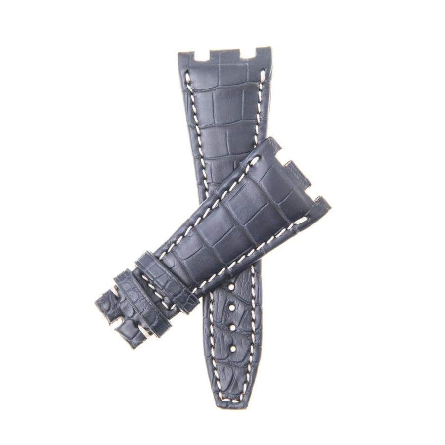 Casati - Milano Alligator Strap Black Matt Genuine Alligator Watch Strap Audemars Piguet Compatible